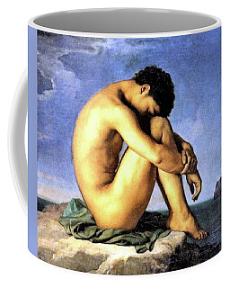 Young Man By The Sea Coffee Mug