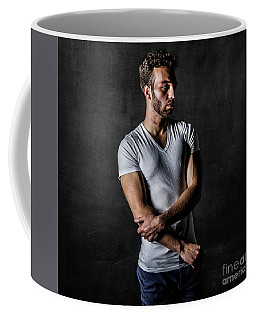 Young Man Coffee Mug