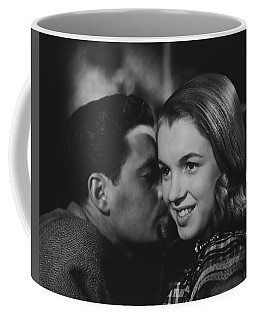 Coffee Mug featuring the photograph Young Marilyn Monroe by R Muirhead Art