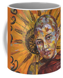 Young Monk Coffee Mug by Michael Cinnamond