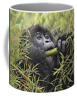 Young Mountain Gorilla Coffee Mug