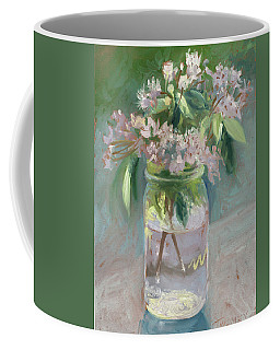 Young Mountain Laurels Coffee Mug by Catherine Twomey