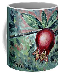 Young Pomegranate Coffee Mug