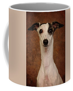Coffee Mug featuring the photograph Young Whippet by Greg Mimbs
