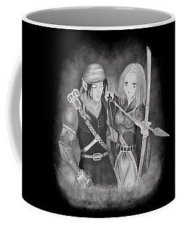 Coffee Mug featuring the digital art Your Destiny Awaits by Raphael Lopez