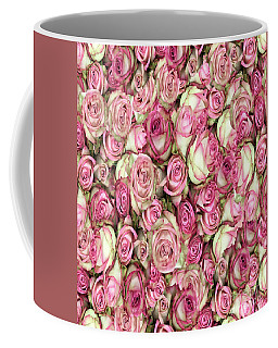 Coffee Mug featuring the photograph Your Pink Roses by Rockin Docks Deluxephotos