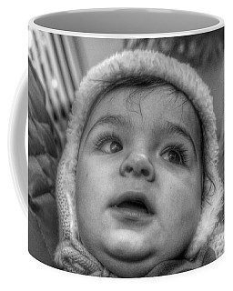 Youth In A Fleece Lined Cap Coffee Mug