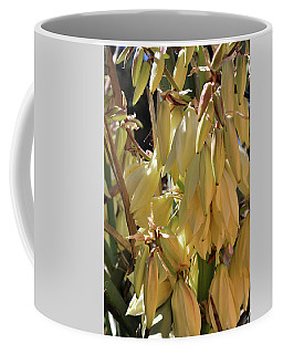 Coffee Mug featuring the photograph Yucca Bloom II by Ron Cline