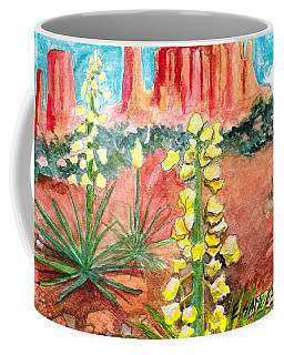 Yucca In Monument Valley Coffee Mug