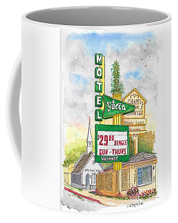 Yucca Motel And Little Chapel Of The Flowers, Las Vegas, Nevada Coffee Mug