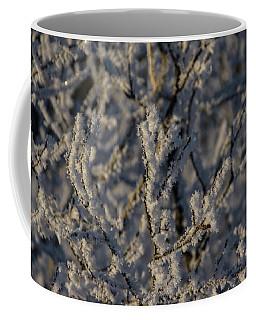 Coffee Mug featuring the photograph Yukon Snow Scene 3 by Phyllis Spoor