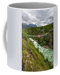 Yukon Suspension Bridge Coffee Mug