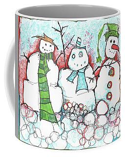 Yuletides From The Brink Coffee Mug