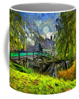 Zaanse Schans Coffee Mug by Eva Lechner