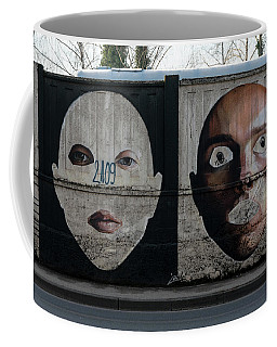 Zagreb Graffiti Wall Coffee Mug by Steven Richman