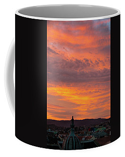 Zagreb Sunset 5 Coffee Mug by Steven Richman