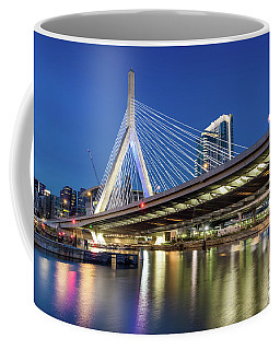 Zakim Bridge And Charles River Coffee Mug