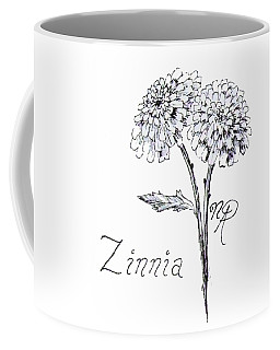 Zannie Zinnia Coffee Mug