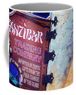 Coffee Mug featuring the photograph Zanzibar Trading Company by Mark Andrew Thomas