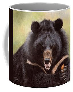 Zebedee Moon Bear - In Support Of Animals Asia Coffee Mug by Rachel Stribbling
