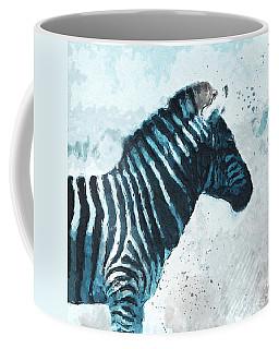 Zebra- Art By Linda Woods Coffee Mug