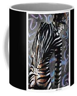 Zebra Boy At Dawn Coffee Mug