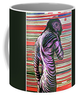 Zebra Boy Battle Wounds Coffee Mug