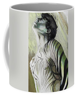 Zebra Boy In Spring Coffee Mug
