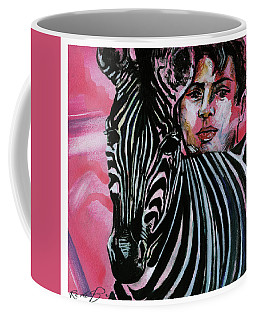 Zebra Boy Squared  Coffee Mug