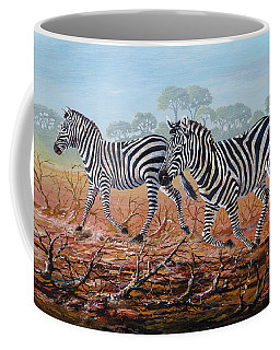 Zebra Crossing Coffee Mug