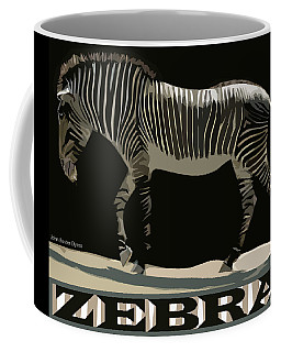 Zebra Design By John Foster Dyess Coffee Mug
