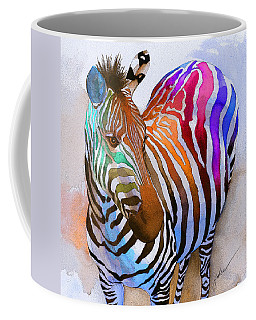 Zebra Dreams Coffee Mug