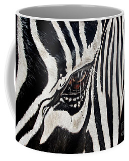 Zebra Eye Coffee Mug