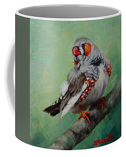 Zebra Finch Miniature Coffee Mug