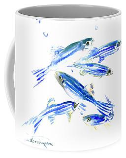 Zebra Fish, Danio Coffee Mug