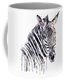 Zebra Head Coffee Mug