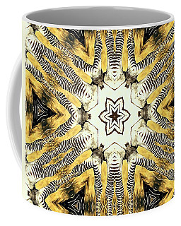 Zebra I Coffee Mug by Maria Watt