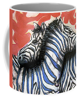 Zebra In Love Coffee Mug