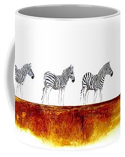Zebra Landscape - Original Artwork Coffee Mug