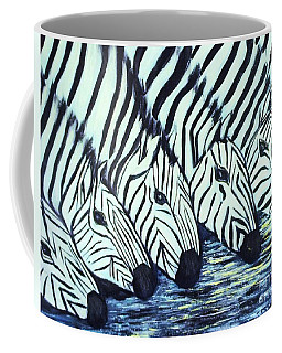 Zebra Line Coffee Mug