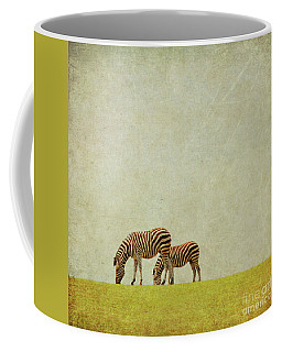 Zebra Coffee Mug by Lyn Randle
