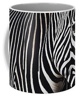 Zebra Close-up Coffee Mug