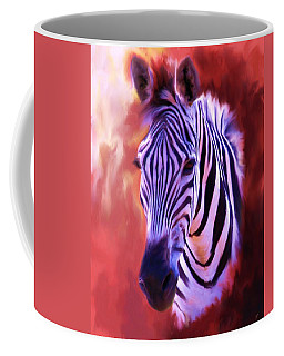 Zebra Portrait Coffee Mug
