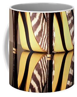 Coffee Mug featuring the photograph Zebra Print Stiletto by Terri Waters