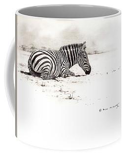 Zebra Sketch Coffee Mug
