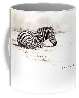 Zebra Sketch Coffee Mug