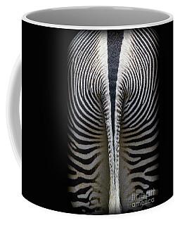 Coffee Mug featuring the photograph Zebra Stripes by Heiko Koehrer-Wagner