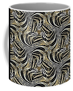 Zebra Vii Coffee Mug by Maria Watt