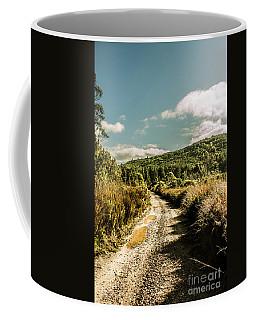 Zeehan Dirt Road Landscape Coffee Mug