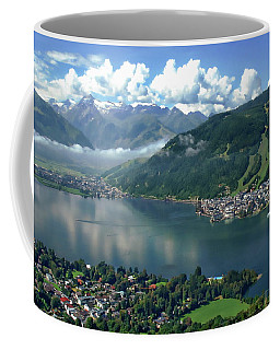 Zell Am See Panorama Coffee Mug